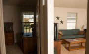 Bedroom to Living Room